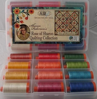 Love love love these colors: SHARON PEDERSON - ROSE OF SHARON QUILTING