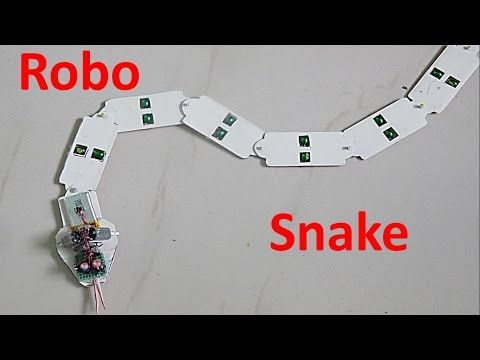 How to make a Toy Robot Snake - YouTube