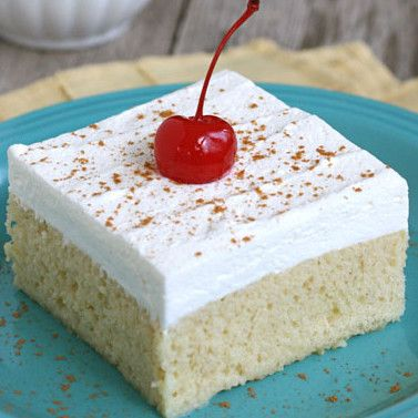 Culinary Secrets » Tres Leches Cake