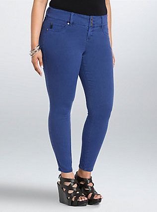 10 Best images about Royal Blue Jeggings on Pinterest | Moves like ...