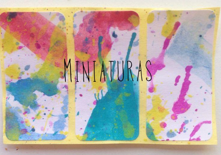 Miniacuarelas