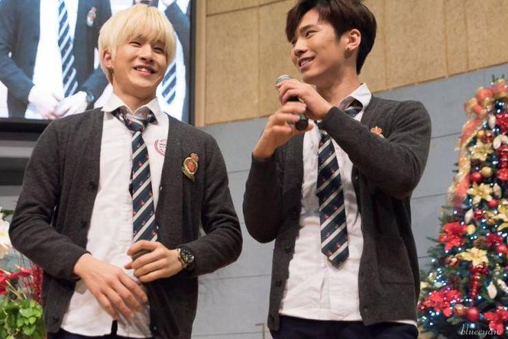 [29.12.15] Baekwoon Middle School - JinJin e Rocky