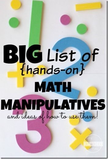 manipulatives a hands on approach to math Learn from creative st math teachers who use math manipulatives in  materials  that can be used on screens include wikki stix, sticky hands, and dry erase.