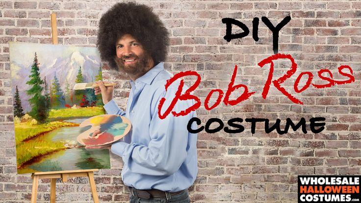 DIY Bob Ross Costume