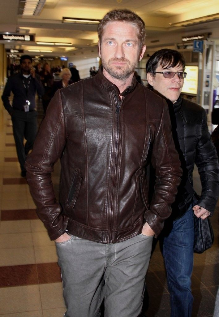 Olympus Has Fallen Gerard Butler Leather Jacket