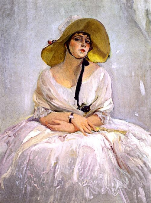 Raquel Meller by Joaquin Sorolla - A gorgeous painting.