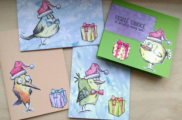 stamps tim holtz crazy birds