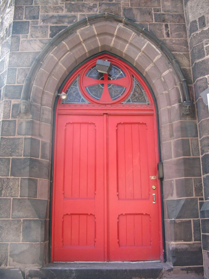 What does having a red door mean