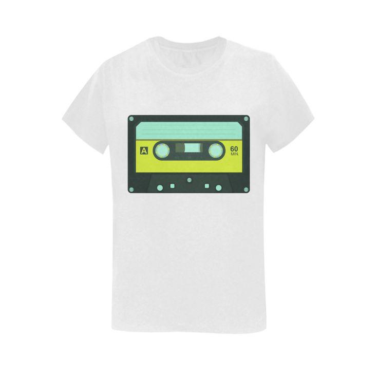 Cassette Tape Sunny Women