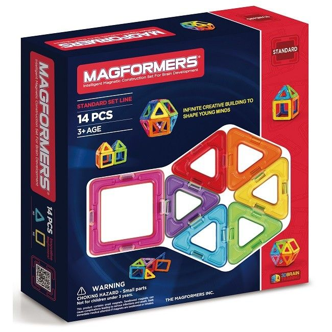 Magformers Magnetic Construction Blocks | Standard Set 14 pieces | Entropy There is always room for more Magformers when you are having fun creating something special. #EntropyWishList and #PinToWin