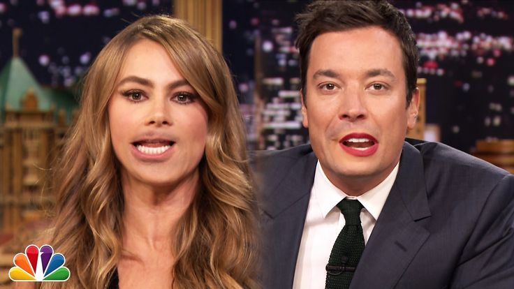 Jimmy Fallon and Sofia Vergara Swap Mouths, Interview Each Other, and Sing Gloria Estefan's 'Conga'