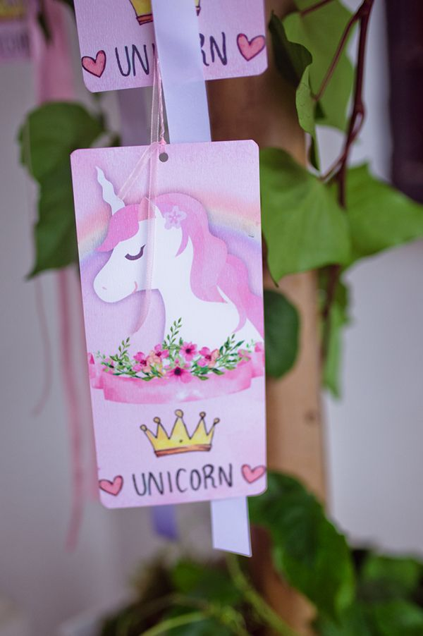 unicorn theme for a  baptism