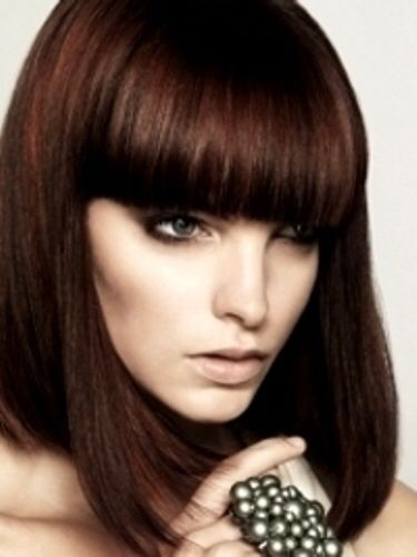 Chocolate Red Hair Color