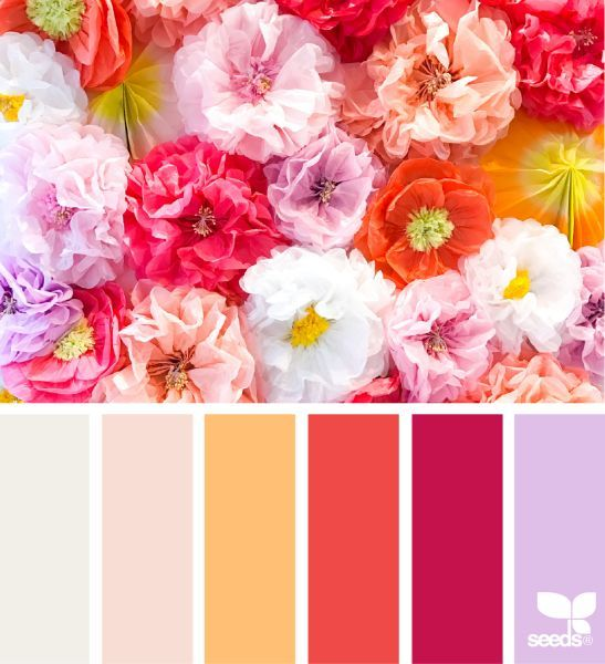 Get your inspiration from these palettes