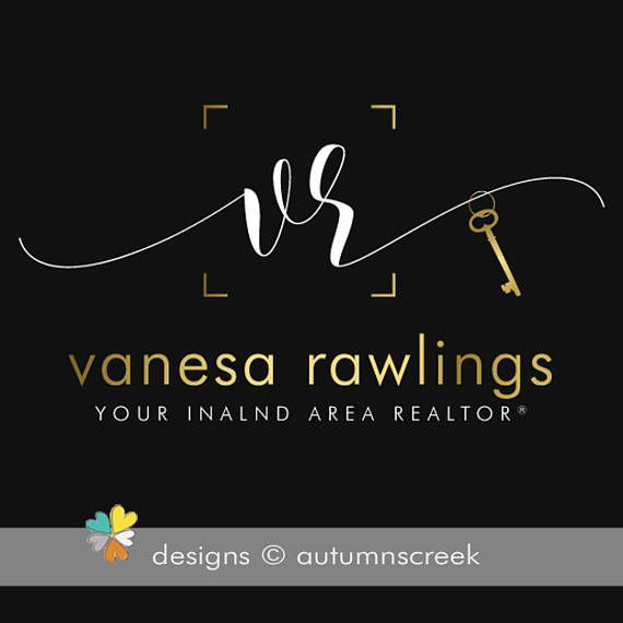 18 best gold and black realtor logos images on pinterest