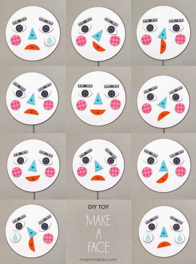 Laboratori per Bambini: Le nostre emozioni! http://laboratoriperbambini.blogspot.it/2013/07/le-nostre-emozioni.html