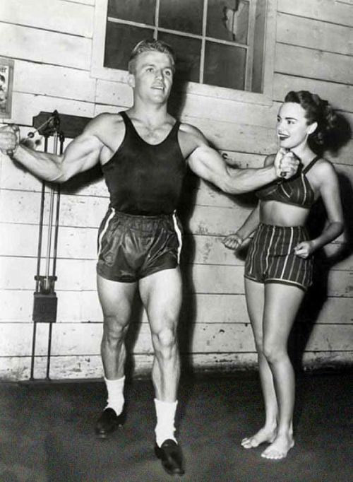 Richard Jaeckel and Terry Moore in 'Come Back, Little Sheba', 1952.