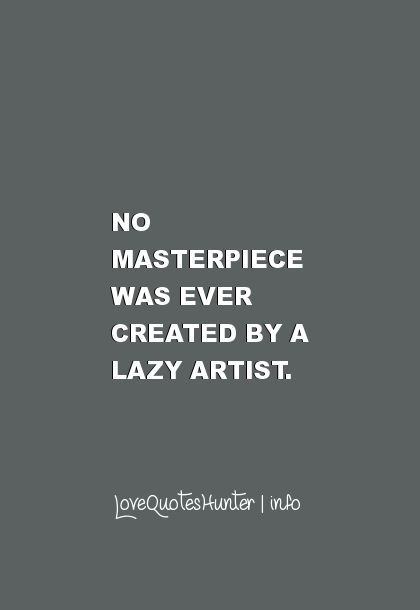 Masterpiece quotes