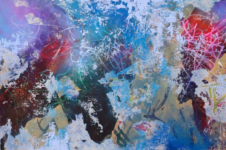 """José Parlá """"In Medias Res"""" @ Bryce Wolkowitz Gallery, NYC: 597El_Centro_Habana.jpg"""
