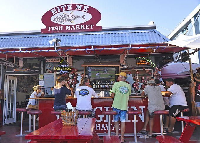 Kona's exceptional seafood secret: Bite Me Fish Market Bar and Grill | Washington Times Communities