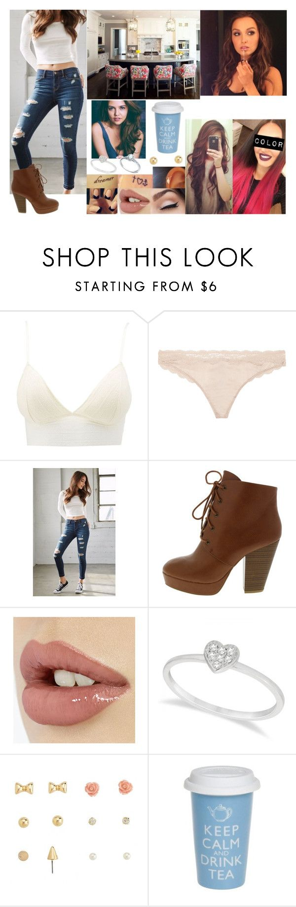 """Going Through Applications"" by samanthanicole39 ❤ liked on Polyvore featuring Charlotte Russe, STELLA McCARTNEY, Bullhead Denim Co. and Allurez"