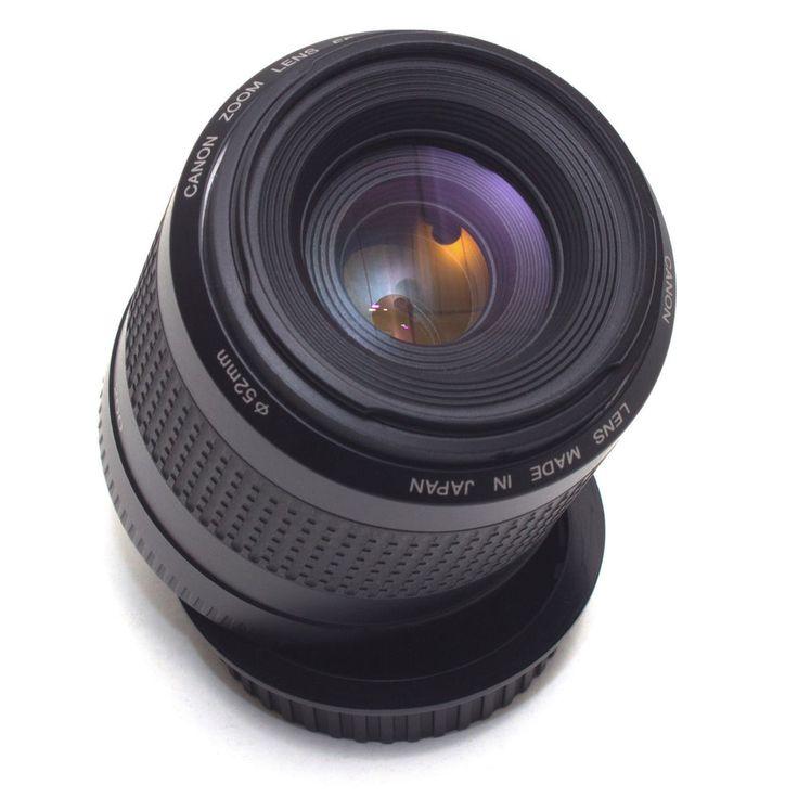 Canon EF 80-200mm F4.5-5.6 II Telephoto Zoom LENS AF Full Frame EOS DSLR VGC