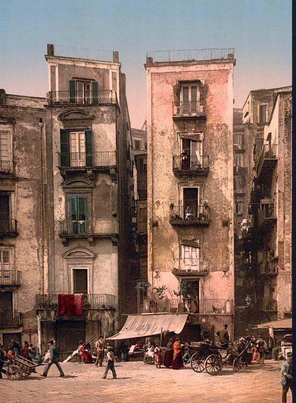 NAPLES: Naples Italy, Photos, 1895, Santa Lucia, Favorite Places, Travel, Photography
