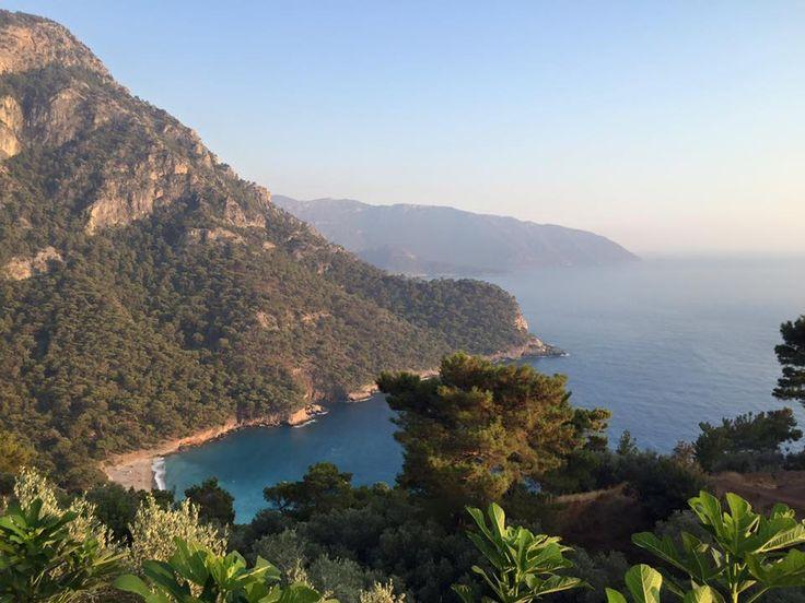 Good morning from #Kabak Beach, #Faralya, #Oludeniz, #Fethiye, #Turkey
