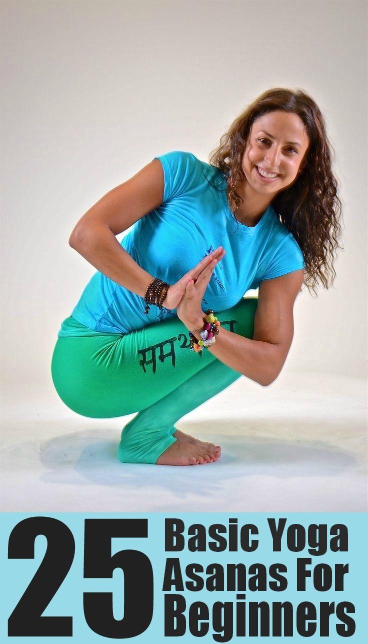 25 Basic Yoga Asanas For Beginners