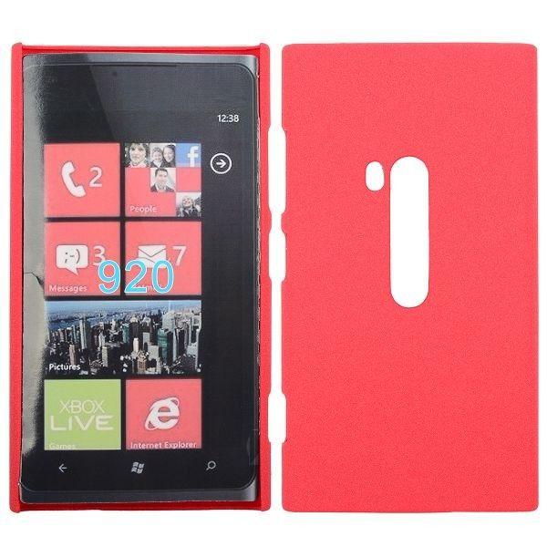 Rock Shell (Vaaleanpunainen) Nokia Lumia 920 Suojakuori