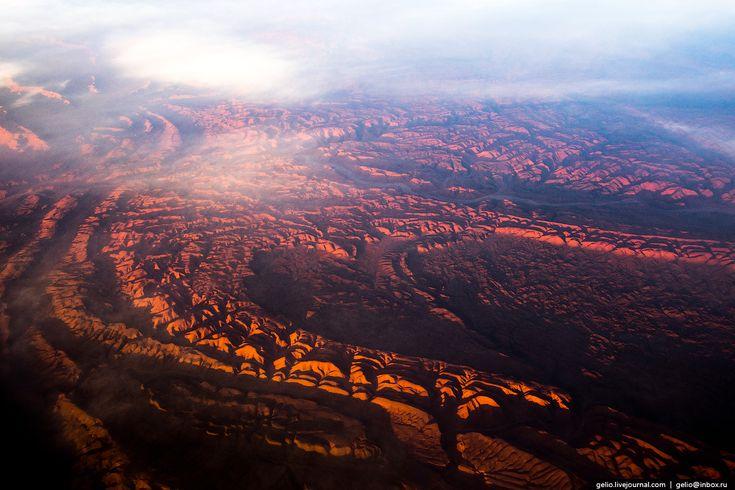 Фотографии из окна самолёта — 2016 « FotoRelax