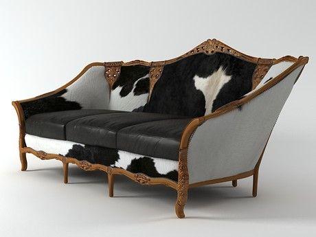 N/A Spanish sofa 3d model    N/A