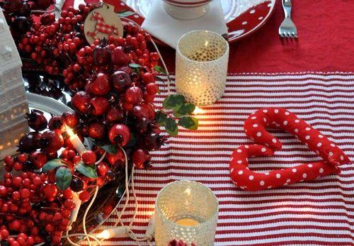 Mesés karácsonyi asztalteríték