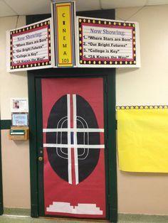 Classroom Ipad Decoration | Classroom Movie Theater Door Idea