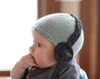 Lustiger Frosch Hut Baby STRICKMUSTER stricken von LittleRedWindow