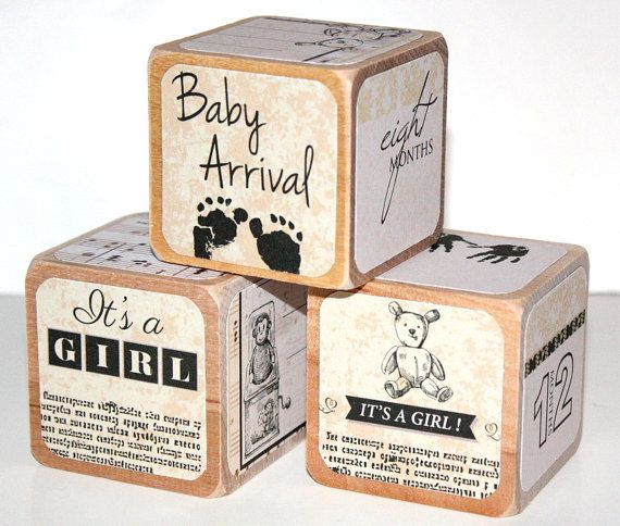 100 ideas to try about personalized baby gifts personalized shabby chic vintage baby girl nursery childrens baby blocks 2 inch baby shower decor negle