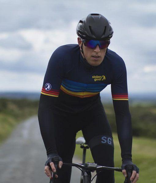 Buy Stolen Goat Bodyline LS Cycling Jersey - Men s Sundown  331df116a