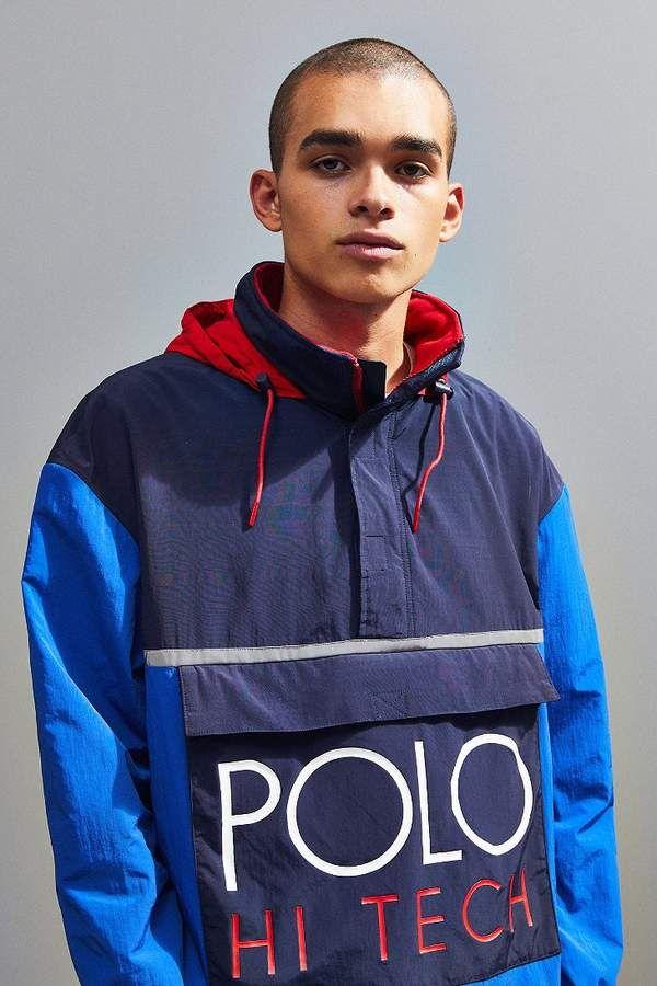 9d7d1f6b25b Polo Ralph Lauren Hi-Tech Popover Anorak Jacket