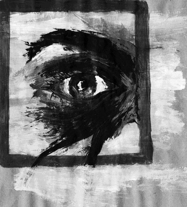 eye in a frame