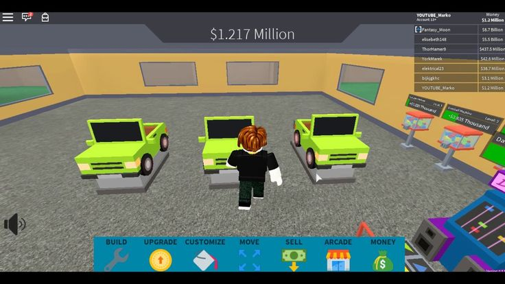 ROBLOX FREE GAME Arcade Tycoon Part 1 (With images) Free