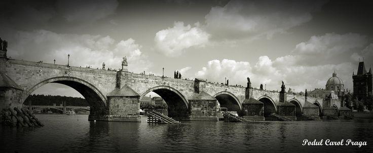 Praga ... podul Carol
