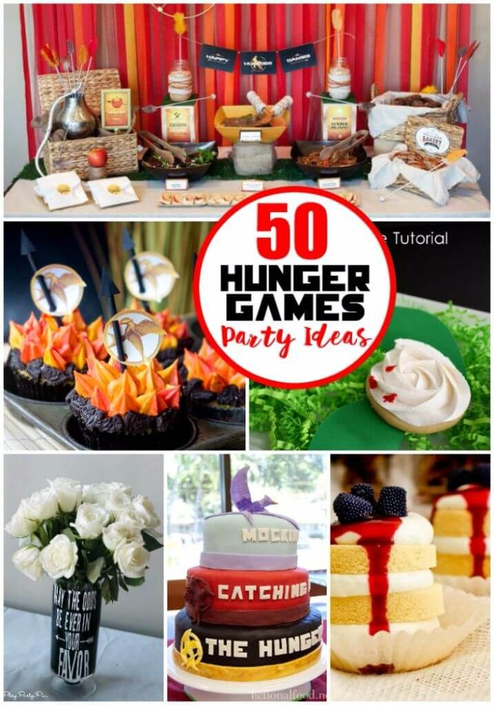 If you love the Hunger Games trilogy, you're going to love all of these awesome Hunger Games party ideas. Everything you need to throw one killer party!