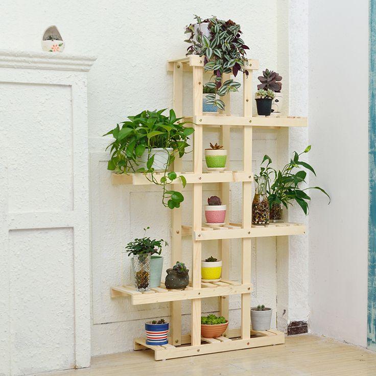 M s de 1000 ideas sobre estantes de plantas en pinterest - Muebles para plantas ...