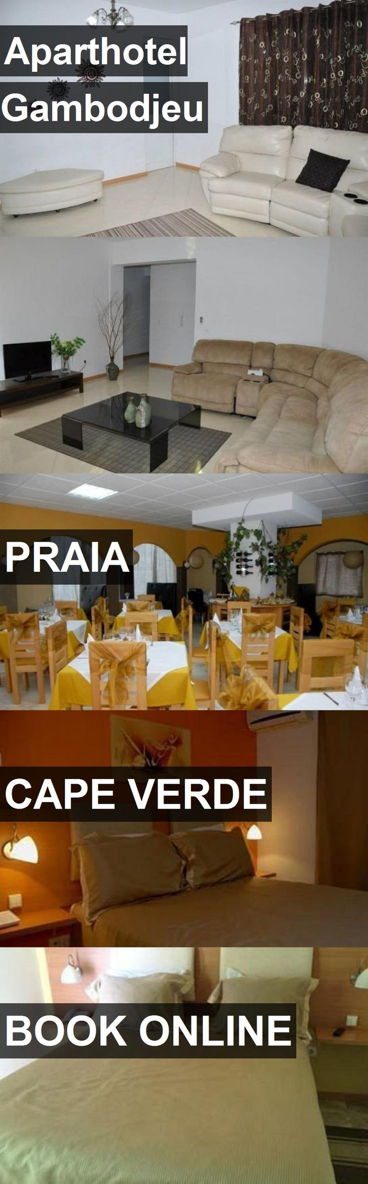 Aparthotel Gambodjeu in Praia, Cape Verde. For more information, photos, reviews and best prices please follow the link. #CapeVerde #Praia #travel #vacation #hotel
