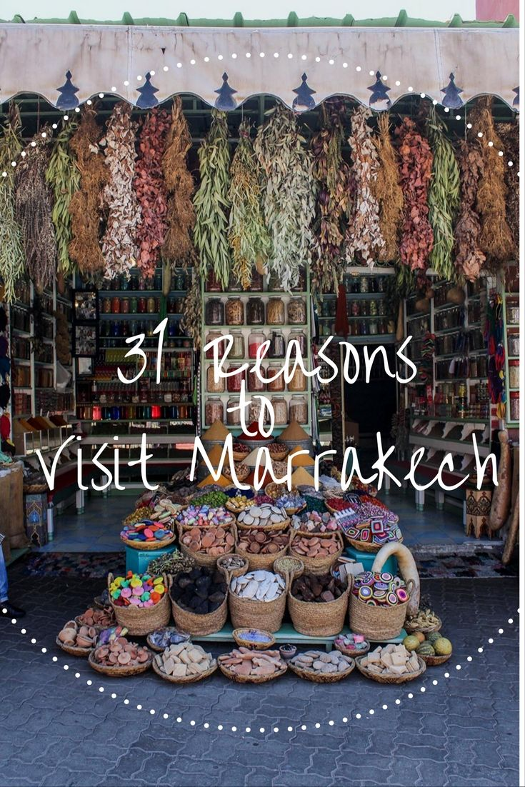 Need reasons to go to Morocco? 31 things to do in Marrakech - from history to getting lost in the medina, eating tagine and playing with kittens. Where to shop and how to barter and where to watch the best sunset. Click through for some great reasons why the Red City should be on your must-see list!