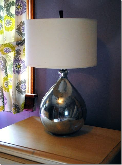 Power Of Paint Faux Mercury Glass Lamps From One Day At A Time