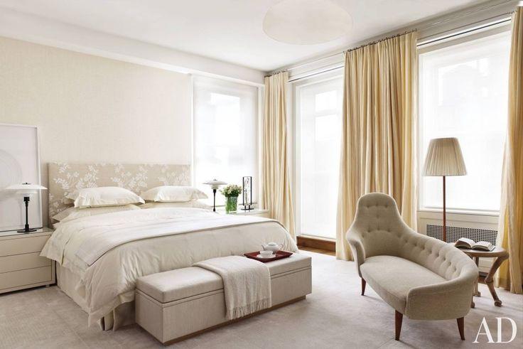 Modern Bedroom by Shelton, Mindel & Associates in New York, New York | Modern Sofas. Living Room Inspiration. Bedroom Ideas. Bedroom sofa. #modernsofas #bedroomsofa