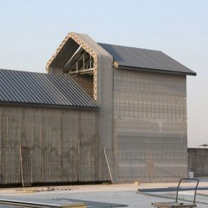 Chinese company 3D prints 10 buildings  in a day using construction waste #recycle #sustainability