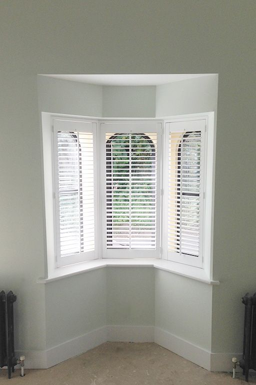 76 Best Bay Window Shutters Images On Pinterest Indoor Shutters Interior Shutters And
