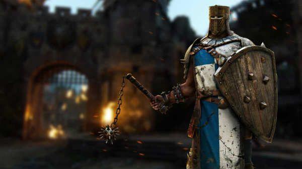 Los Conquistadores en For Honor son unos héroes de la facción de los caballeros que destacan por su fuerza bruta y su escudo